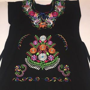 Dresses & Skirts - A Mexican Apron/Dress From Mexico